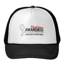 Awareness 2 Mesothelioma Trucker Hat