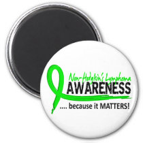 Awareness 2 Non-Hodgkin's Lymphoma Magnet