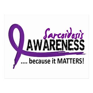 Awareness 2 Sarcoidosis Postcard
