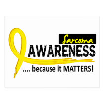 Awareness 2 Sarcoma Postcard