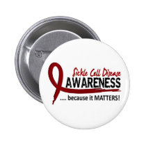 Awareness 2 Sickle Cell Disease Button
