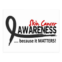 Awareness 2 Skin Cancer Postcard