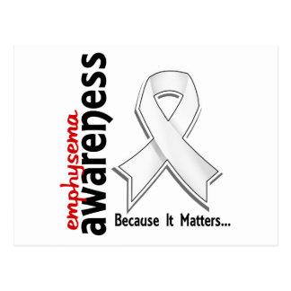 Awareness 5 Emphysema Post Cards