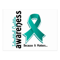 Awareness 5 Interstitial Cystitis Postcard