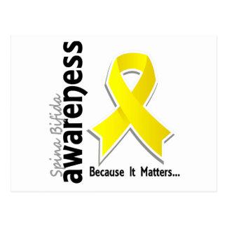 Awareness 5 Spinal Bifida Postcard