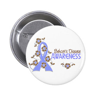 Awareness 6 Behcet's Disease Button