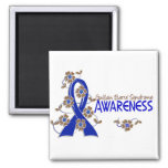 Awareness 6 Guillain Barre Syndrome 2 Inch Square Magnet
