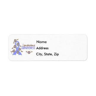 Awareness 6 Lymphedema Return Address Label