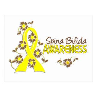 Awareness 6 Spina Bifida Postcard