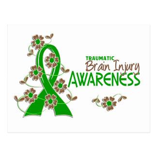Awareness 6 Traumatic Brain Injury Postcard