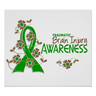 Awareness 6 Traumatic Brain Injury Print