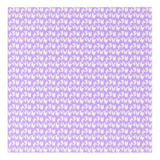 Awareness Butterflies on Lilac Purple Acrylic Wall Art