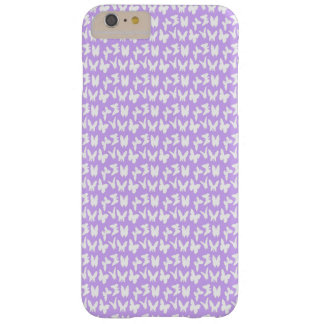 Awareness Butterflies on Lilac Purple Barely There iPhone 6 Plus Case