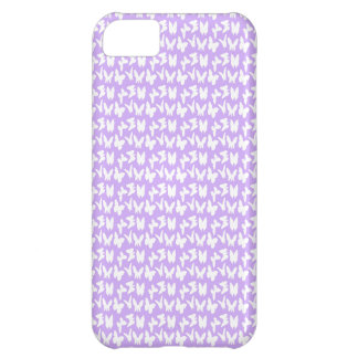 Awareness Butterflies on Lilac Purple Case For iPhone 5C