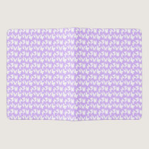 Awareness Butterflies on Lilac Purple Extra Large Moleskine Notebook