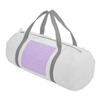 Awareness Butterflies on Lilac Purple Gym Bag