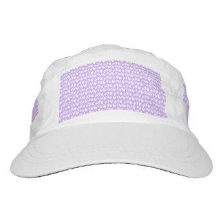 Awareness Butterflies on Lilac Purple Headsweats Hat