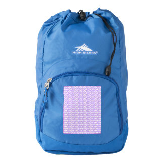 Awareness Butterflies on Lilac Purple High Sierra Backpack