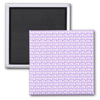 Awareness Butterflies on Lilac Purple Magnet