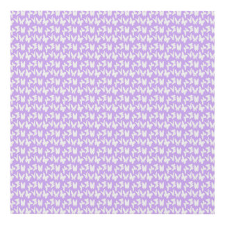 Awareness Butterflies on Lilac Purple Panel Wall Art