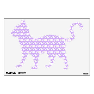 Awareness Butterflies on Lilac Purple Wall Decal