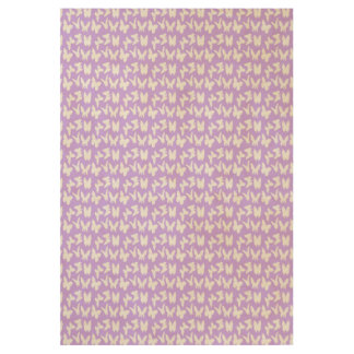 Awareness Butterflies on Lilac Purple Wood Poster