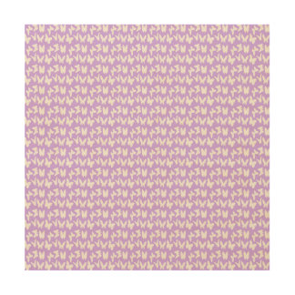 Awareness Butterflies on Lilac Purple Wood Print