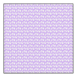 Awareness Butterflies on Lilac Purple Wood Wall Art