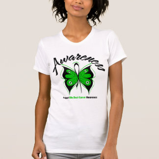 AWARENESS Butterfly Bile Duct Cancer T-shirt