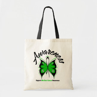 AWARENESS Butterfly Bile Duct Cancer Tote Bag