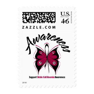 AWARENESS Butterfly Sickle Cell Anemia Postage Stamp