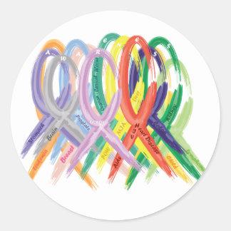 Awareness Classic Round Sticker