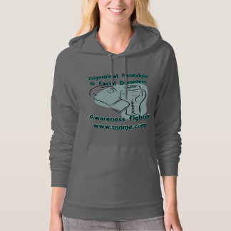 Awareness Fighter Pull over Hoodie...