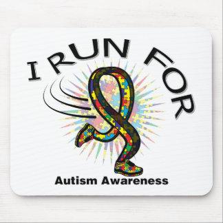 Awareness I Run For Autism Mouse Pad