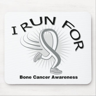 Awareness I Run For Bone Cancer Mousepad