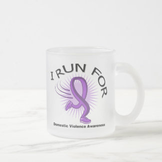 Awareness I Run For Domestic Violence Mug