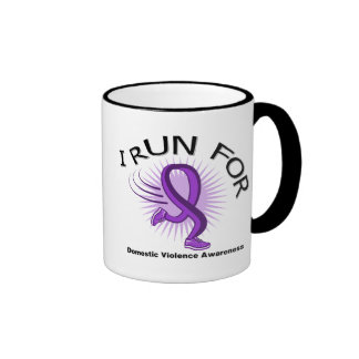 Awareness I Run For Domestic Violence Mugs