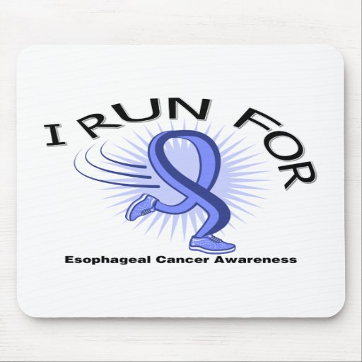 Awareness I Run For Esophageal Cancer Mousepads