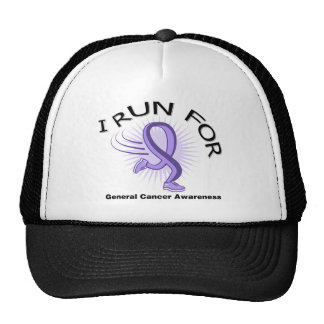 Awareness I Run For General Cancer Trucker Hat