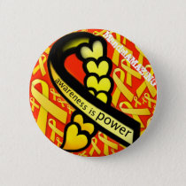 Awareness is Power Design #1 Button