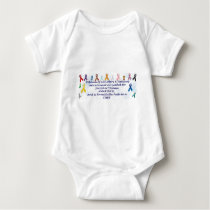 Awareness items baby bodysuit