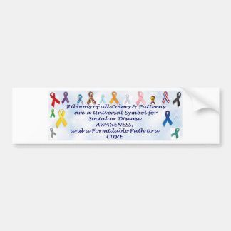 Awareness items bumper sticker