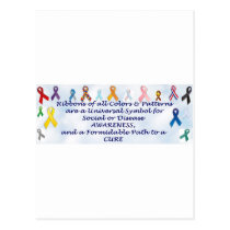 Awareness items postcard