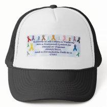Awareness items trucker hat