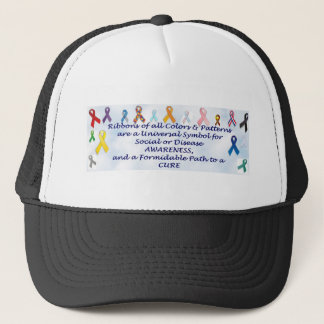 Awareness items trucker hat