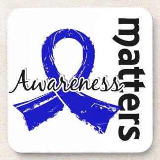 Awareness Matters 7 Anal Cancer Drink Coaster