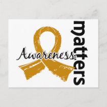 Awareness Matters 7 Appendix Cancer Postcard