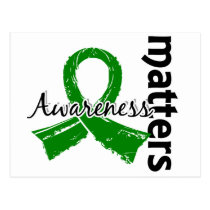 Awareness Matters 7 Bile Duct Cancer Postcard