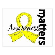Awareness Matters 7 Bladder Cancer Postcard