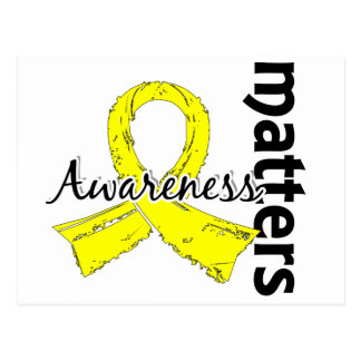 Awareness Matters 7 Bladder Cancer Postcard